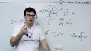 Konvergence řady - těžký příklad