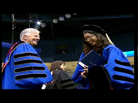 College of Sciences Doctoral Degrees - UMass Lowell Commencement (2012)