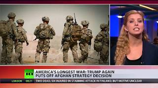 Afghan Impasse: Trump again puts off strategy decision on longest US war