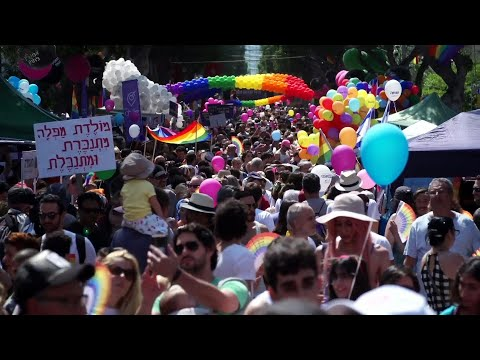 Tel Aviv: Middle East's biggest Gay Pride festival | AFP
