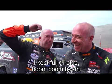 Crashing a rio! Big hits for the Beast and Tim and Tom coronel on stage 3 of the Dakar rally