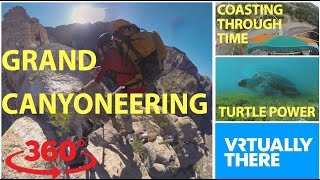 Go VR canyoneering in the Arizona desert, take roller coaster thrill ride
