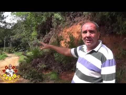 Abel da Paz mostra a destruição da Estrada do Braço Grande do Distrito dos Barnabés