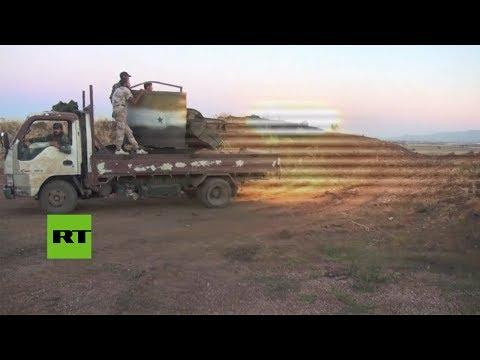 Primeras imágenes del ataque de Israel a Siria