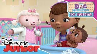 Doc McStuffins | Baby Bath Time | Official Disney Channel Africa