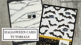 Halloween Card Tutorials (Wiggle Eyes Crafts)