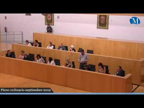 Pleno ordinario de la Diputación correspondiente al mes de septiembre