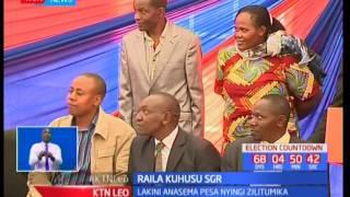 Raila Odinga ameusifu mradi wa reli ya kisasa ya SGR