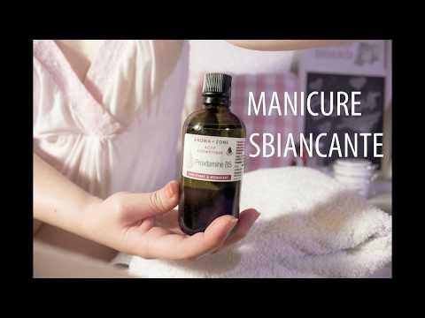 SCRUB mani Manicure Sbiancante, elimina macchie