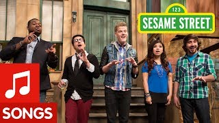 Sesame Street & Pentatonix - Counts (& Sings) To Five