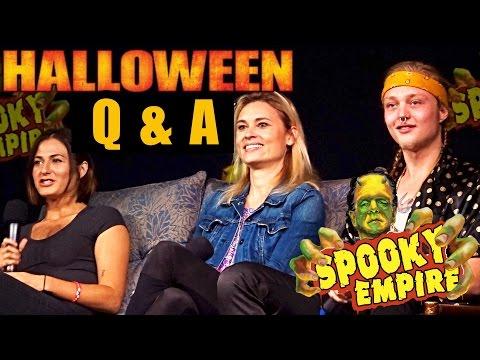 Rob Zombie's Halloween cast Q & A at Spooky Empire Retro 2017