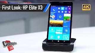 HP Elite X3: Profi-Smartphone mit Windows 10 im Check