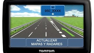 Actualizar Mapas 950_XXXX Y Radares TomTom GRATIS