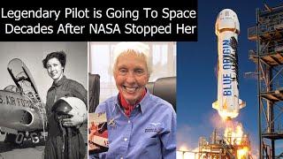 Richard Branson Tries To Beat Jeff Bezos To Space, But Jeff's Final Passenger Is Amazing Choice