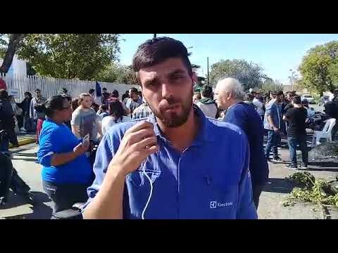 Despidos en Electrolux: trabajadores y trabajadoras reclaman la reicorporación