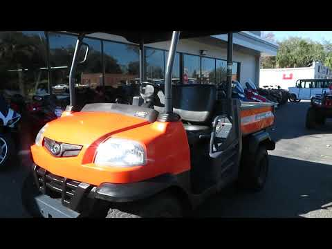2013 Kubota RTV900XT Utility (Orange) in Sanford, Florida - Video 1
