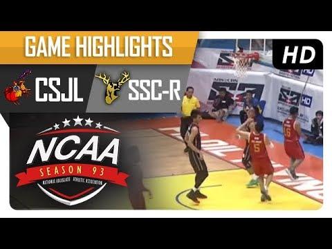 CSJL vs. SSC-R | NCAA 93 | MB Game Highlights | August 15, 2017
