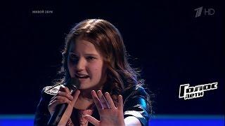 Стефания Соколова «Белый снег» - Поединки - Голос.Дети - Сезон 4