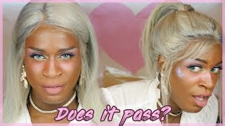 Blonde Super Virgin Hair - THE PONYTAIL TEST | WEAVE WEVIEW