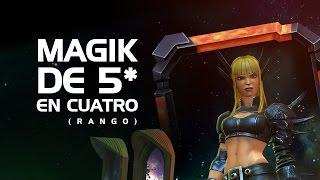 Magik de 5 en Cuatro Rango | Marvel Contest Of Champions