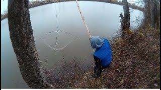 Рыбалка на Паук на Оби! Улов отличный!