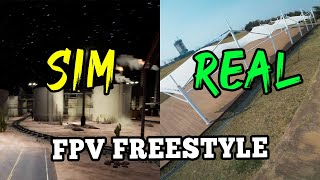 SIM FPV VS. REAL FPV / FPV 시뮬레이터 최고의 연습 도구 / ImpulseRC APEX / KISS FC ESC / JAY FPV FREESTYLE / 드론영상