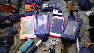 River Treasure: 4 iPhones, 2 GoPro