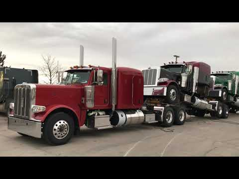 New Peterbilt's Arriving. Stacked Configuration. Mp3