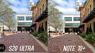 Samsung Galaxy S20 Ultra Camera vs Samsung Galaxy Note 10+ Video Stabilization Test: IMPROVED?