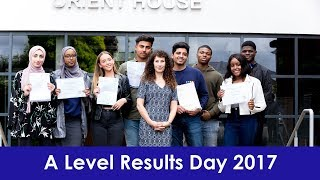 A Level Results Day 2017 - Leyton Sixth Form College