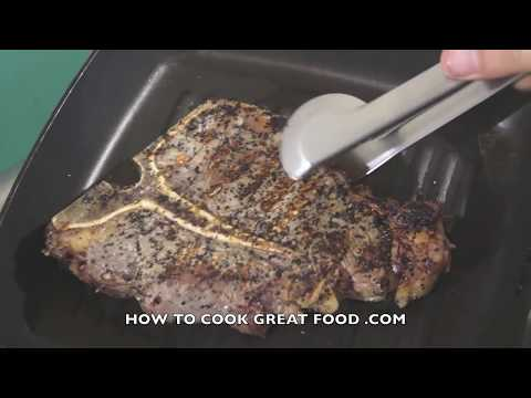 Video How to cook T-Bone Steak Recipe - Porterhouse T Bone Grilled