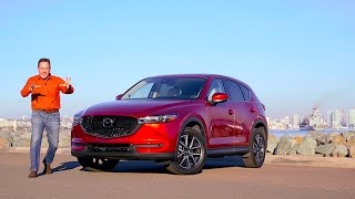 A Refined CUV? 2017 Mazda CX-5 Crossover TECH REVIEW (1 of 3)