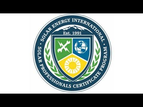 SEI Launches Solar Professionals Certificate Program - Solar ...