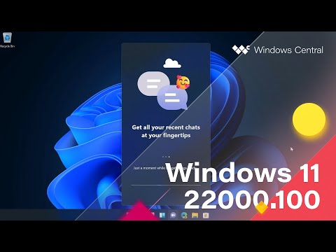 Check out Windows 11 build 22000.100 in our latest build video