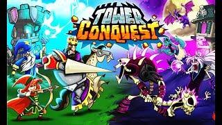 Tower Conquest   Мульт игра для детей  Башня Завоевания про БОИ и СРАЖЕНИЯ на АРЕНЕ Покорение башен