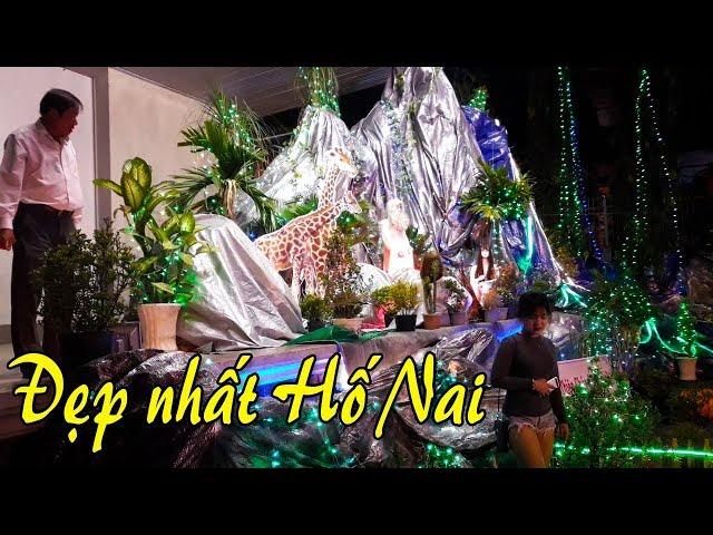 NOEL 2017 | Người dân Biên Hòa City ồ ạt đổ về giáo xứ BẮC HẢI ở Hố Nai xem đèn Noel
