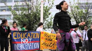 Chicago Marches Against the School to Prison Pipeline