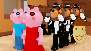 Piggy Roblox Coffin Dance Meme Compilation *100 Player Edition 3*