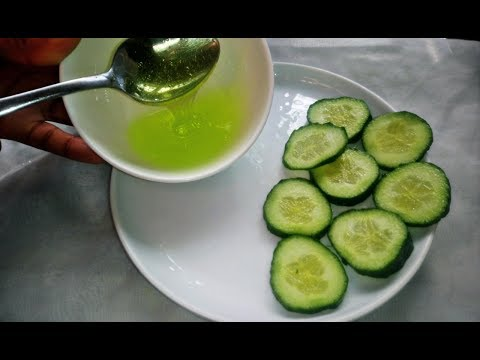 , title : 'How To Make Cucumber Gel For Skin Lightening, Remove Dark Spot, Circles, Suntan & Toning The Skin