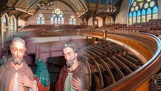 Found STATUES Inside Abandoned Church!