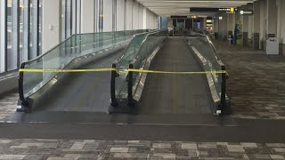 A Look Inside The Near-Empty MSP Airport