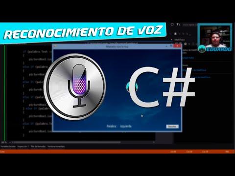 Cómo Hacer El RECONOCIMIENTO De VOZ Con C# En Visual Studio | Speech