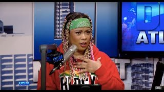 FORGET YOUR TOP 50 GREATEST RAPPERS OF ALL TIME LISTS! DA BRAT CALLS HERSELF THE QUEEN OF RAP