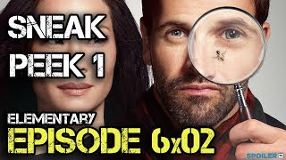 """Sneak peek 2 6.02 """"Elementary"""" - CBS"""
