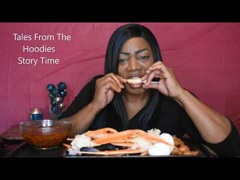 CRAB LEGS SEAFOOD BOIL MUKBANG  Tales From The Hoodies