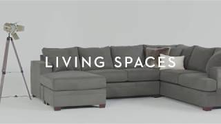 Kerri 2 Piece Sectional With Chaise | Living Spaces