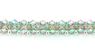 Swarovski XILION Right Angle Weave Bracelet