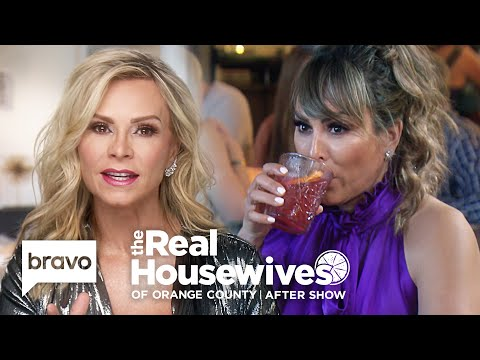 Tamra Judge Explains How One Recording Ended Her Friendship With Kelly   RHOC After Show (S14 Ep16)
