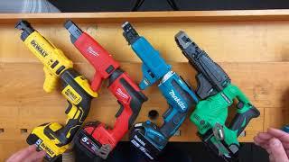 An Expert Analysis of our Cordless Screw Gun Range!