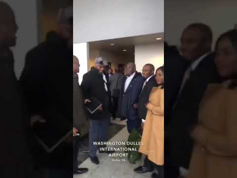 ATIKU ARRIVES THE US AFTER 12 YEARS